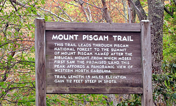 Mount-pisagh-trail-head-sign
